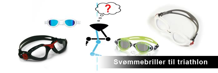 svømmebriller triathlon