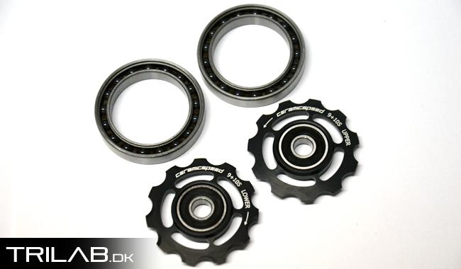 CeramicSpeed pulleyhjul & kranklejer